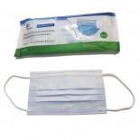 Masti Chirurgicale Medicale cu elastic Albe 98% TIP IIR 5 Buc/set