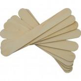 Spatule lemn nesterile mari, abeslang, apasatoare limba 150x18x1.6mm, 100Buc