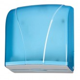 Dispenser Prosoape Hartie V, Z Albastru Transparent
