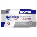 Servetele umede dezinfectante 48 bucati Hygienium cu aviz de Biocide