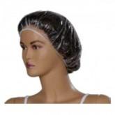 Boneta Plastic LDPE cu elastic, Transparent 100buc