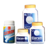 Dezinfectant clorigen pentru suprafete CLOROM 200 tablete