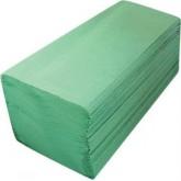 Prosoape hartie pliata verde 200 Buc